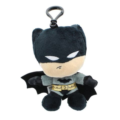 DC Comics Heroez Clipz 4 Inch Collectible Mini Plush - Batman - Multi