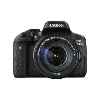Canon EOS 750D with 18-135mm IS STM Lens (International Model)