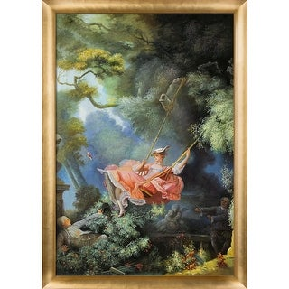 Jean Fragonard 'The Swing' Hand Painted Oil Reproduction
