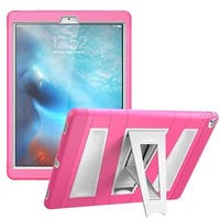 i-Blason Apple iPad Pro Case - Armorbox Series Fullbody  Case with Screen Protector and Kickstand - Pink