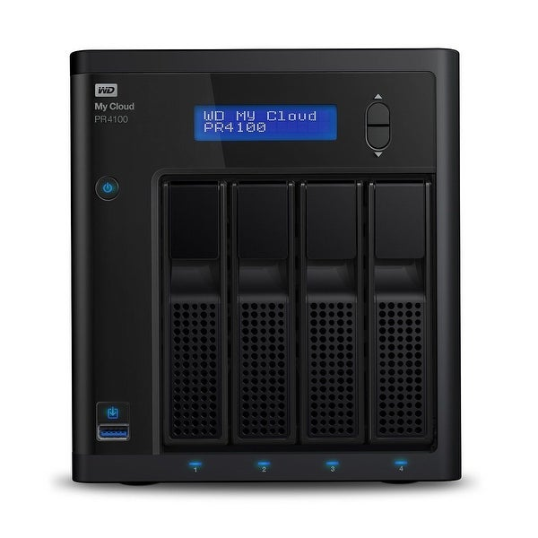 Wd Content Solutions Business - Wdbnfa0240kbk-Nesn - 24Tb My Cloud Pro Series Pr410