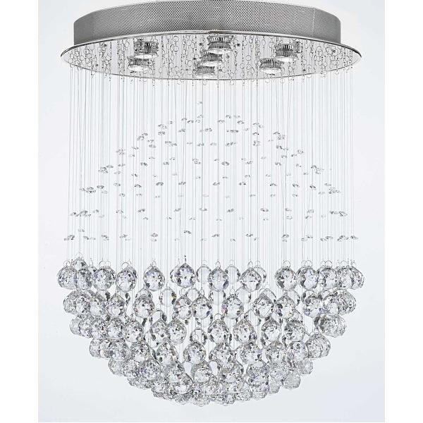 Modern Contemporary *Rain Drop* Chandelier Lighting
