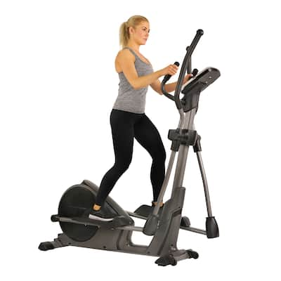 Sunny Health & Fitness Pre-Programmed Elliptical Trainer SF-E3912