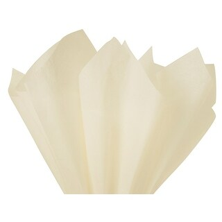 """Pack of 480, Solid Birch Tissue Paper 20 x 26"""" Sheet Ream Made From 100% Post Industrial Recycled Fibers"""
