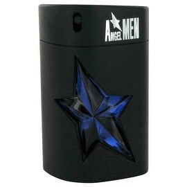 ANGEL by Thierry Mugler Eau De Toilette Spray Refillable (Rubber - Tester) 3.4 oz - Men