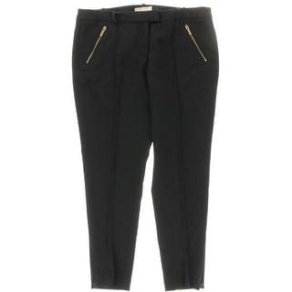 MICHAEL Michael Kors Womens Double Zipper Pocket Stretch Dress Pants - 16