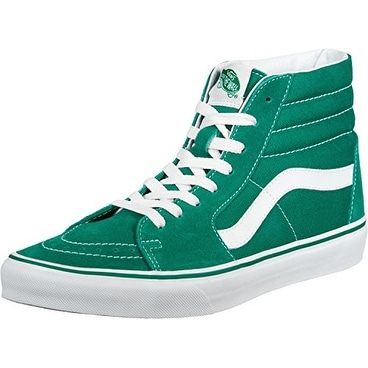 Vans Sk8 Hi Mens Green Suede