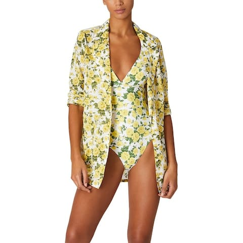 Onia Long Sleeve Beach Blazer