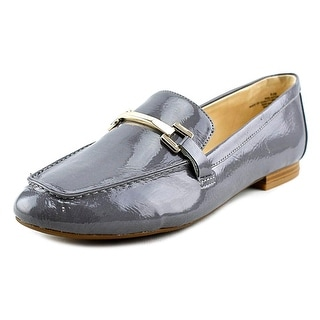 Nine West Last Call Women Round Toe Synthetic Gray Loafer