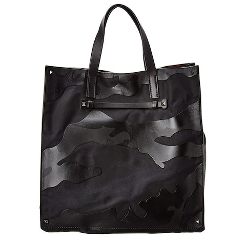 Valentino Leather Tote - NoSize