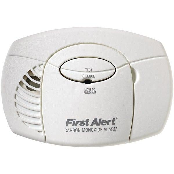 First Alert Co400 Battery-Powered Carbon Monoxide Alarm (No Digital Display)
