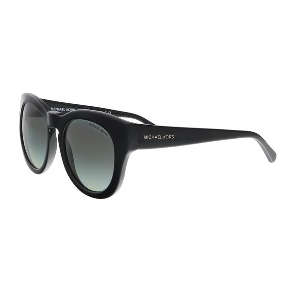 Michael Kors MK2037 317711 3N SUMMER BREEZE BLACK ROUND Sunglasses - 50-19-135