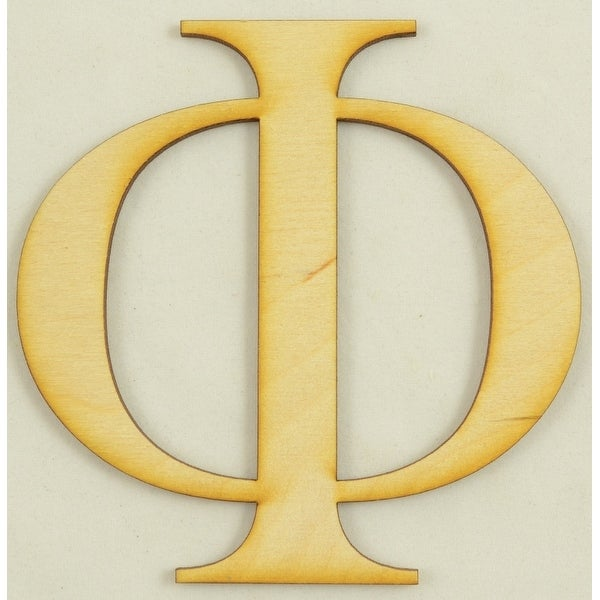 Shop Phi Greek Letter Size10 Inch Thickness18 Baltic Birch