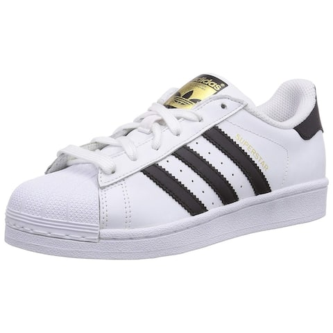 cheap for discount 0a0e2 7e569 Adidas Mens Superstar Leather Low Top Lace Up Fashion Sneakers