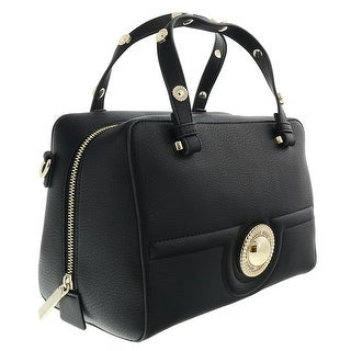 Versace EE1VRBBL7 Black Satchel Bag - 10-7-7