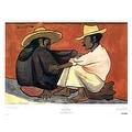 ''Pareja Indigena'' by Diego Rivera Museum Art Print (20 x 26 in.) - Thumbnail 0