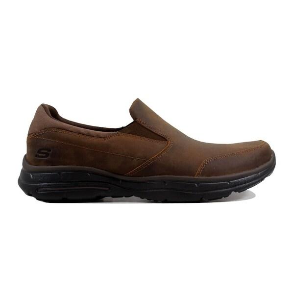 Shop Skechers Men's - Glides Calculous Dark Brown64589/CDB - Men's - 24016409 7d7aaf