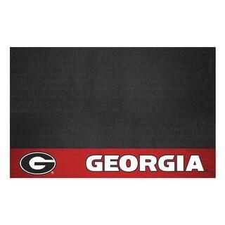 University of Georgia Vinyl Grill Mat