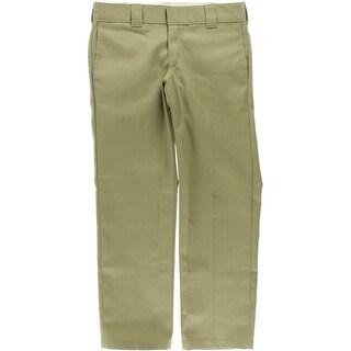 Dickies Mens Casual Pants Twill Slim Fit