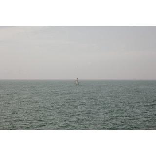 Sailboat & Ocean Canvas Print Wall Art