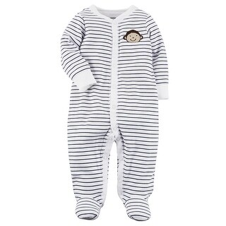 Carter's Baby Boys' Monkey Snap-Up Cotton Sleep & Play, 9 Months