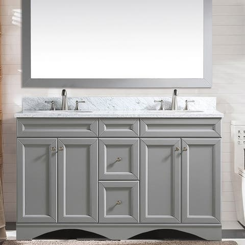 "Proox 60"" Double Bathroom Vanity Cabinet"