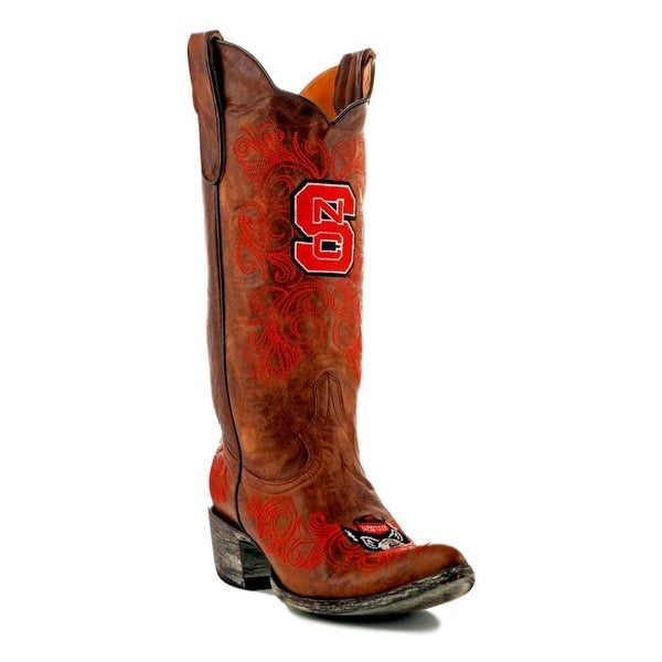 Gameday Boots Womens College Team North Carolina Brass