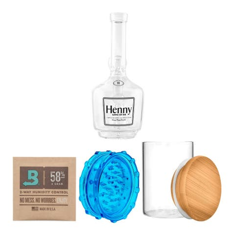 Hemper Glass Henny Gang Glass Diffuser w/ 420 Focus Accessories