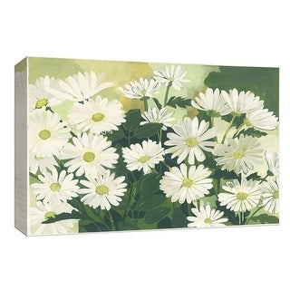 """PTM Images 9-153954  PTM Canvas Collection 8"""" x 10"""" - """"Lots of Daisies"""" Giclee Flowers Art Print on Canvas"""
