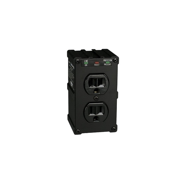 tripp lite 519423B Tripp Lite ULTRABLOK Isobar Surge Protector/Suppressor 2 outlets, Direct Plug In, 1410 Joules