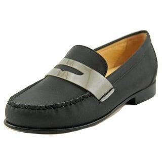 Cole Haan Monroe Penny Women Round Toe Leather Black Loafer