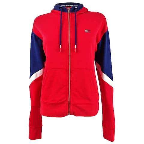 Tommy Hilfiger Sport Women's Colorblocked Zip Hoodie