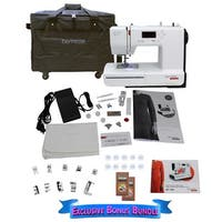 Bernette 37 Swiss Design Computerized Sewing Machine with Bonus Bundle