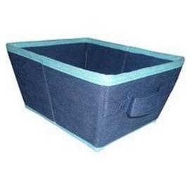 Homebasix 05000953B Storage Bin, Blue