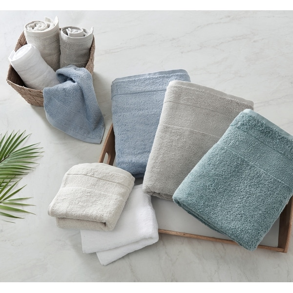Tommy Bahama Island Retreat Solid Cotton 6 Piece Towel Set - 6 Piece. Opens flyout.