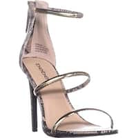 Bebe Womens Berdine Open Toe Casual Strappy Sandals
