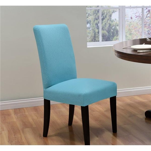 Shop Madison Kathy Ireland Ingenue Dining Room Chair Cover Aqua
