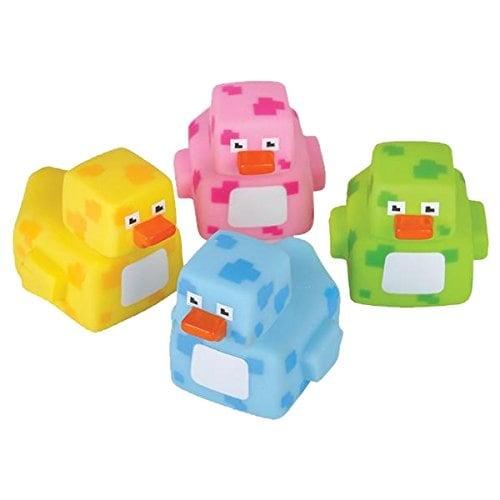 "Rhode Island Novelty 2"" Pixelated Rubber Duckies (12 Piece)"