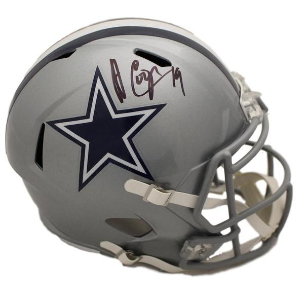 9e06af440 Shop Amari Cooper Autographed Dallas Cowboys Speed Replica Helmet JSA -  Free Shipping Today - Overstock - 25762115