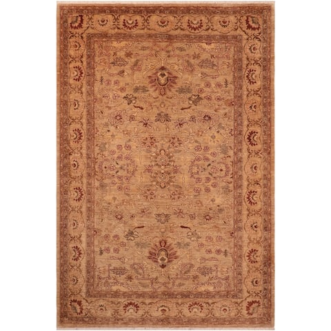 """Boho Chic Ziegler Tamiko Hand Knotted Area Rug -6'0"""" x 8'10"""" - 6 ft. 0 in. X 8 ft. 10 in."""