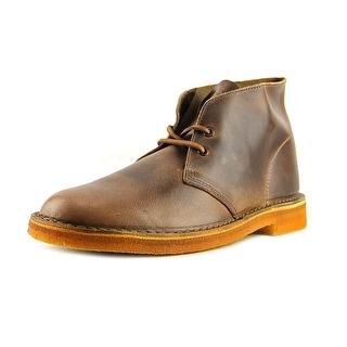 Clarks Originals Desert Boot Round Toe Leather Desert Boot