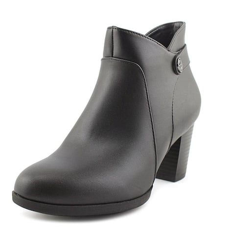 Giani Bernini GB35 Abalina Casual Ankle Boots, Black