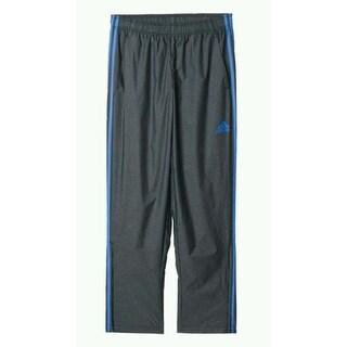 Adidas NEW Charcoal Gray Men Size 2XL Zipper Hem Drawstring Active Pants