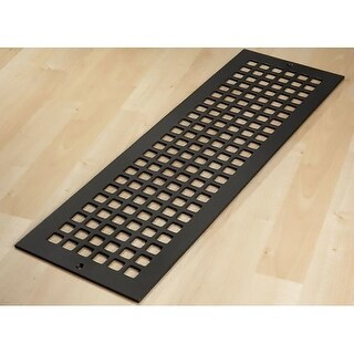 """Reggio Registers G826-SNH Grid Series 24"""" x 6"""" Floor Grille without Mounting Hol - N/A"""