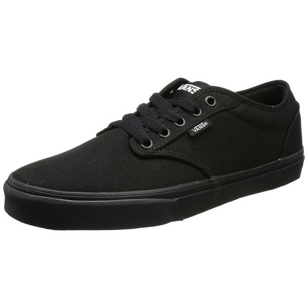 aa6a2cc33a Shop Vans Men s Atwood (Canvas) Skate Shoes 11 Men Us (Black Black ...