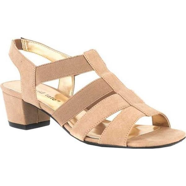 147058e9e Shop David Tate Women's Delight Strappy Sandal Taupe Nova Suede - On ...