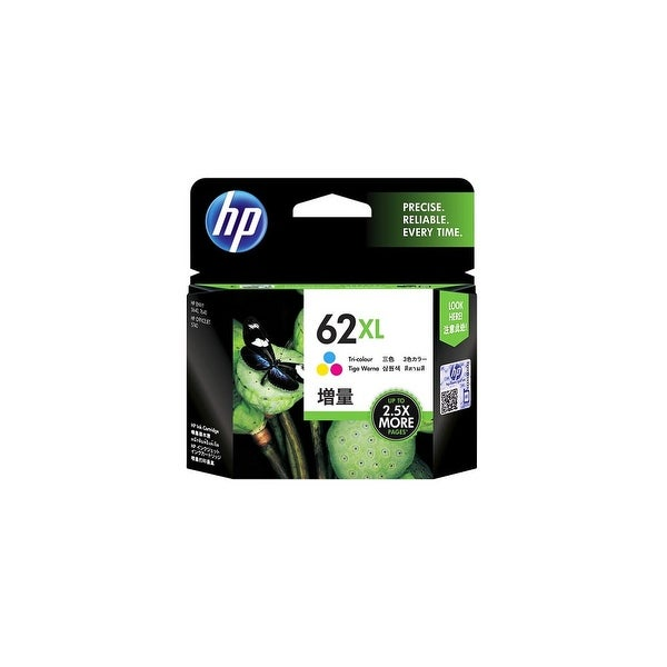 HP 62XL High Yield Tri-color Original Ink Cartridge (C2P07AN) (Single Pack)