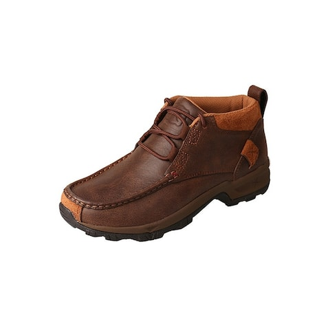 Twisted X Outdoor Shoes Womens Lace Up Hiker Padded Brown