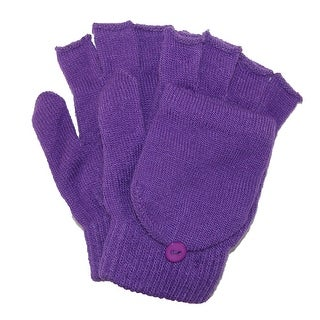 Grand Sierra Women's Knit Magic Stretch Convertible Glove to Mitten - One Size