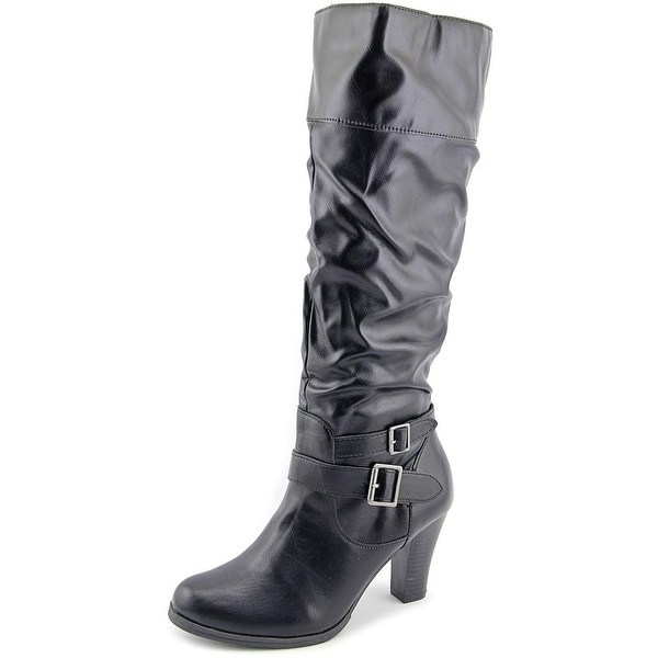 Style & Co Rudyy Round Toe Synthetic Knee High Boot